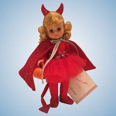 """Madame Alexander 1992 8"""" Little Devil"""