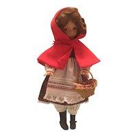 "Dianna Effner 1989 14"" Little Red Riding Hood"