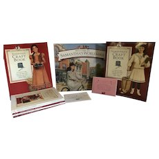 American Girl Books Crafts Set 1992 to 1999