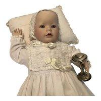 Franklin Mint  Christening Doll 1986