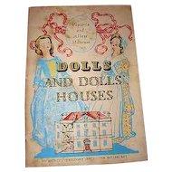 Vintage 1950s Antique Doll House Book Victoria Albert Dolls Museum Booklet 28 pics