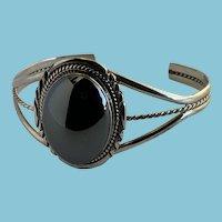 Native American Hematite Cuff Bracelet
