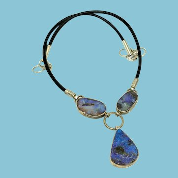 Boulder Opal Statement Necklace