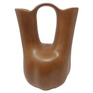 San Juan pottery wedding vase by Myrtle Cata