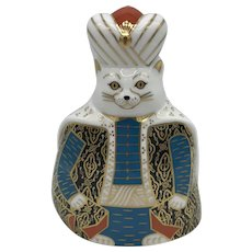 Royal Crown Derby Royal Cat- Persian - NO box dated 1987