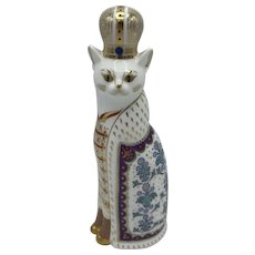 Royal Crown Derby Royal Cat- Russian - NO box dated 1988