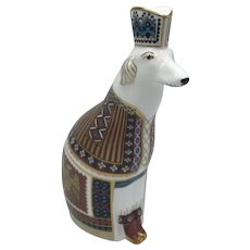 Royal Crown Derby National Dog - Russian Borzoi - NO box dated 1993