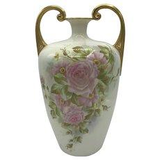 Antique American Porcelain Willets Belleek Vase c. 1880's-1909