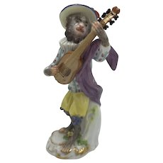 Meissen Monkey Band/Orchestra Mandolin Player c. 1924-1934