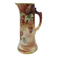 Antique American Porcelain Willets Belleek and D'Arcy's Studio Tankard c. 1880's-1909