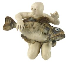 Ceramic Aggie Zed Fishman from 2005-2006