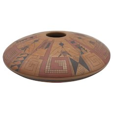 Native American Hopi pottery bowl by Gloria Kahe