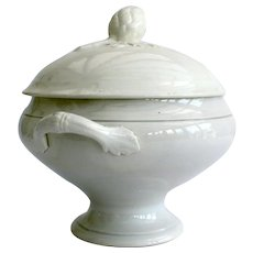 French white lided tureen by St Amand