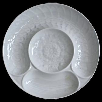 French white porcelain plates - Pillivuyt