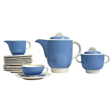Art deco, tea or coffee set for ten made by Villeroy & Boch