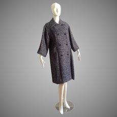 Vintage 70s Christian Dior Numbered Coat ~ Automne Hiver 1977 Collectible Designer Jacket