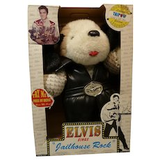 Elvis Plush Dog plays Jailhouse Rock