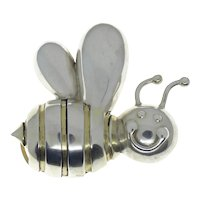 Designer Joanie Nelkin Bumble Bee Belt Buckle