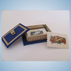 Miniature Victorian Style Calling Cards in Beautiful Box