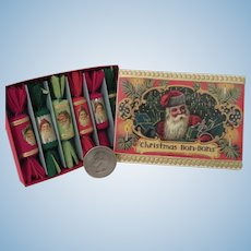 Miniature Victorian Style Christmas Crackers or French Bon-bons