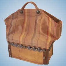 Antique Style Sac du Voyage for Your French Fashion Doll