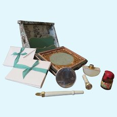 Miniature French Style Papeterie Stationery Box