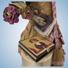 Miniature Silk Hankie or Handkerchief in Beautiful Presentation Box