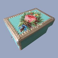Little Victorian Style Doll Box
