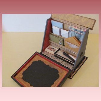 French Style Papeterie or Miniature Stationery Set