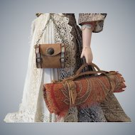 Chatelaine Style Hip Purse and Carriage Blanket