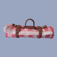Miniature Rolled Lap or Picnic Blanket