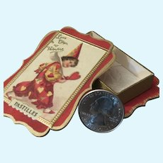 Miniature Antique Style Valentine Candy Box