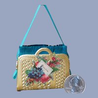 Little Dresden Purse Candy Container