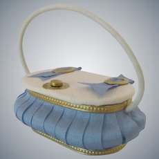 Reserved Listing for Sharon Miniature Purse or Sewing Basket