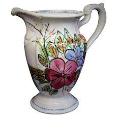 Beautiful LARGE Vintage Blue Ridge Southern Potteries VERNA Milady Pitcher