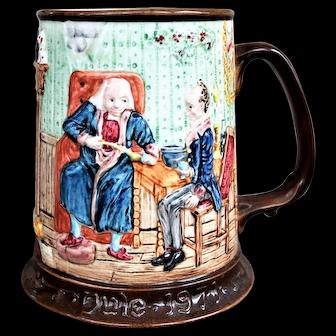 Beswick Royal Doulton Limited Edition Charles Dickens Christmas Carol Tankard Mug 1971