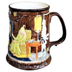 Vintage Beswick Royal Doulton Limited Edition Charles Dickens Christmas Carol Tankard Mug 1974