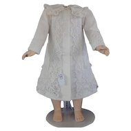"White dress-cap for 21"" doll"