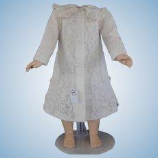 """White dress-cap for 21"""" doll"""