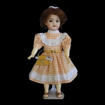 "Bleuette SFBJ 60 reproduction - 11"" doll with Hazel eyes."