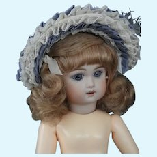 "Hat for 8"" (18 cm) HC dolls - Blue"