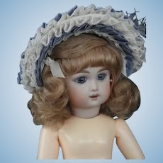 "Hat for 8"" (18 cm) HC dolls - Blue"