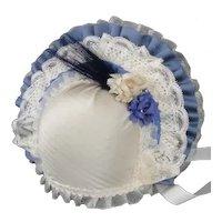 "Blue Hat for dolls size 5/7 - 9.85"" - 11.30"" HC"