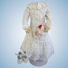 """Cotton dress for 16"""" French Fashion doll"""