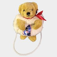 Merrythought Teddy Bear Hand Muff and Purse