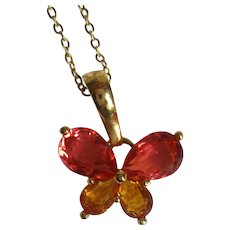 Nolan Miller's Butterfly Necklace/Pendant