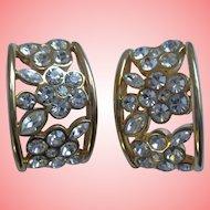 Nolan Miller's Delightful Crystal Pierced Earrings