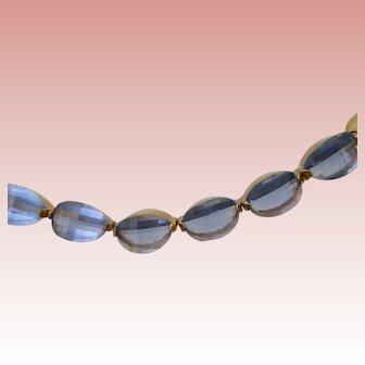 "Nolan Miller's Elite Blue Oval Stone 7-1/2"" Bracelet"