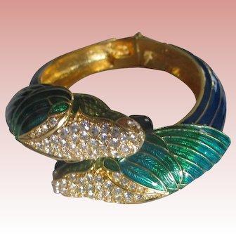 Nolan Miller's Large Cockatoo Bangle Bracelet