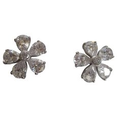 Nolan Miller's Refined Flower Pierced Earrings